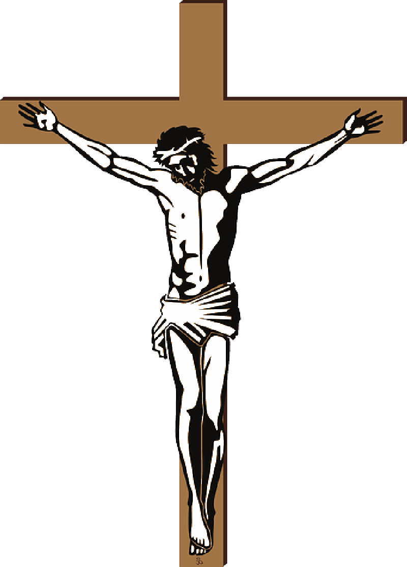 Nails clipart cross. Crucifix with transparent background