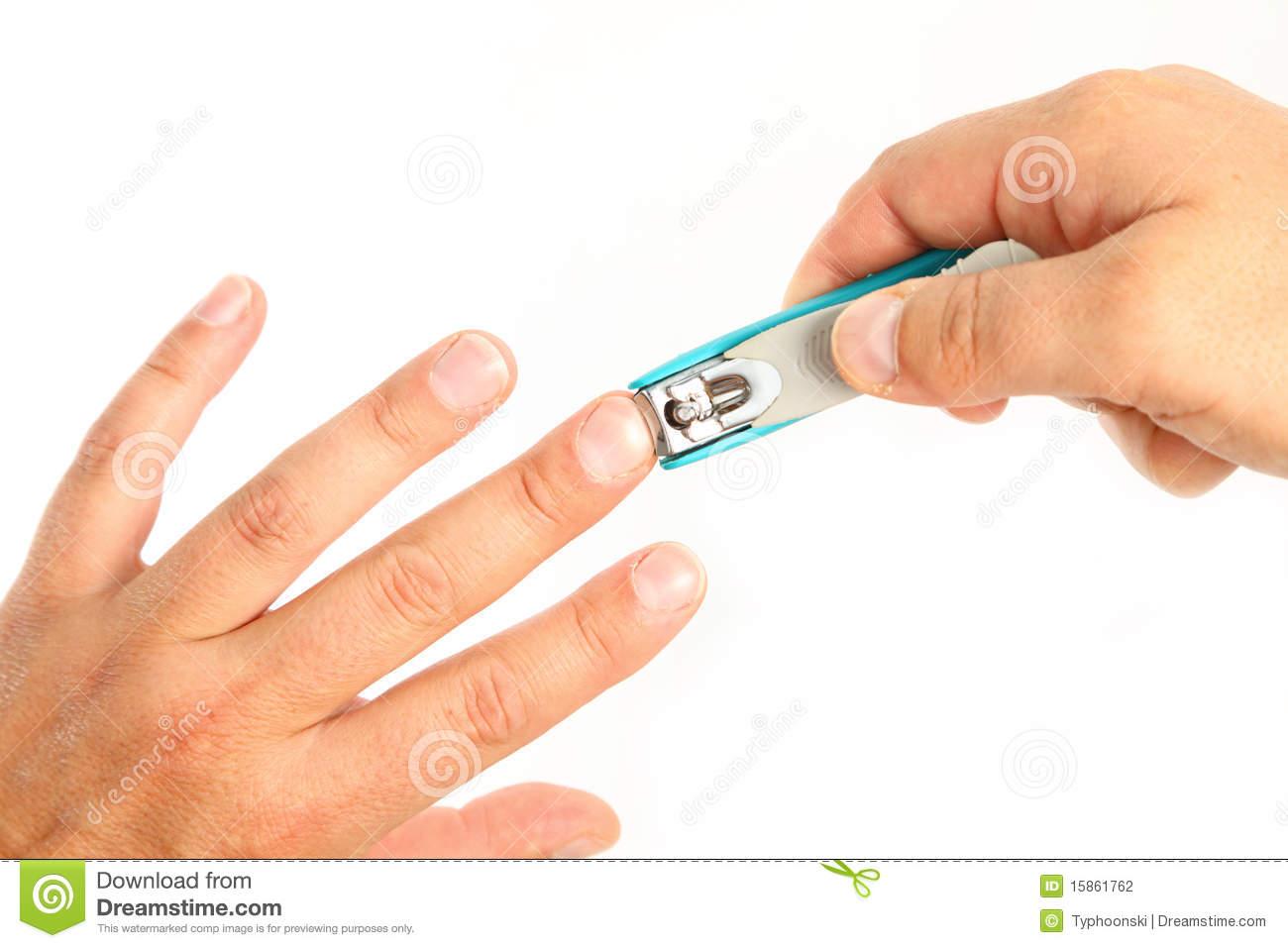 Finger clip art black. Nails clipart short nail