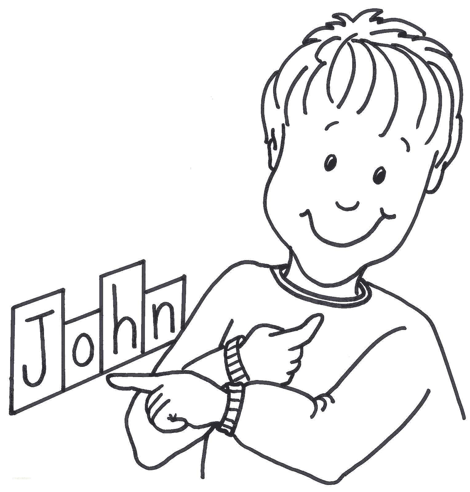 Name clipart. List of people names