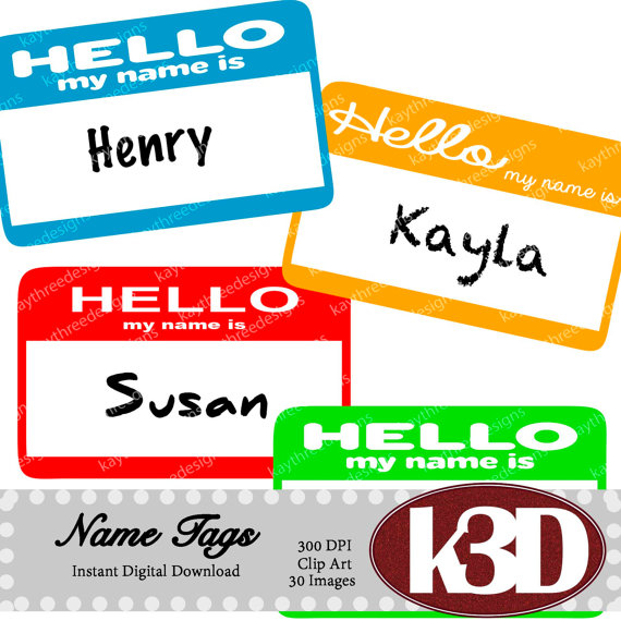 Tags hello my is. Name clipart