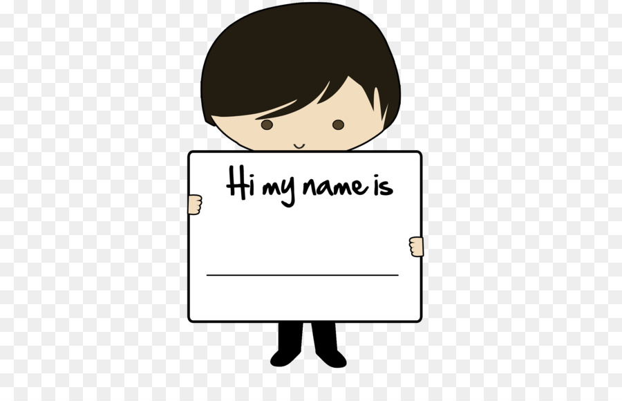 Name clipart cartoon. Background face text