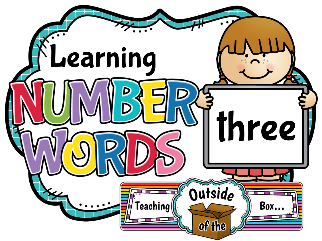 collection of number. Name clipart name box