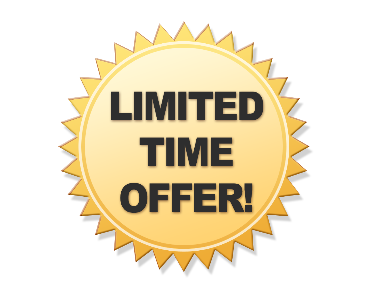 Limited offer png transparent. Name clipart offering