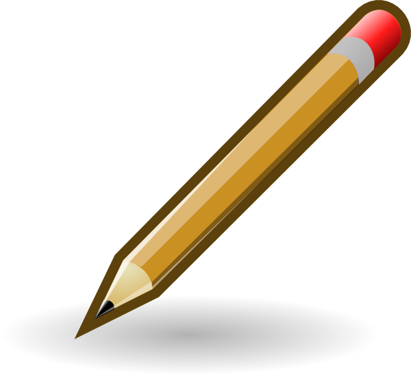 Name clipart pencil. Style clip art at