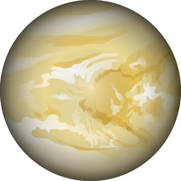 Venus clip art at. Planet clipart blue planet