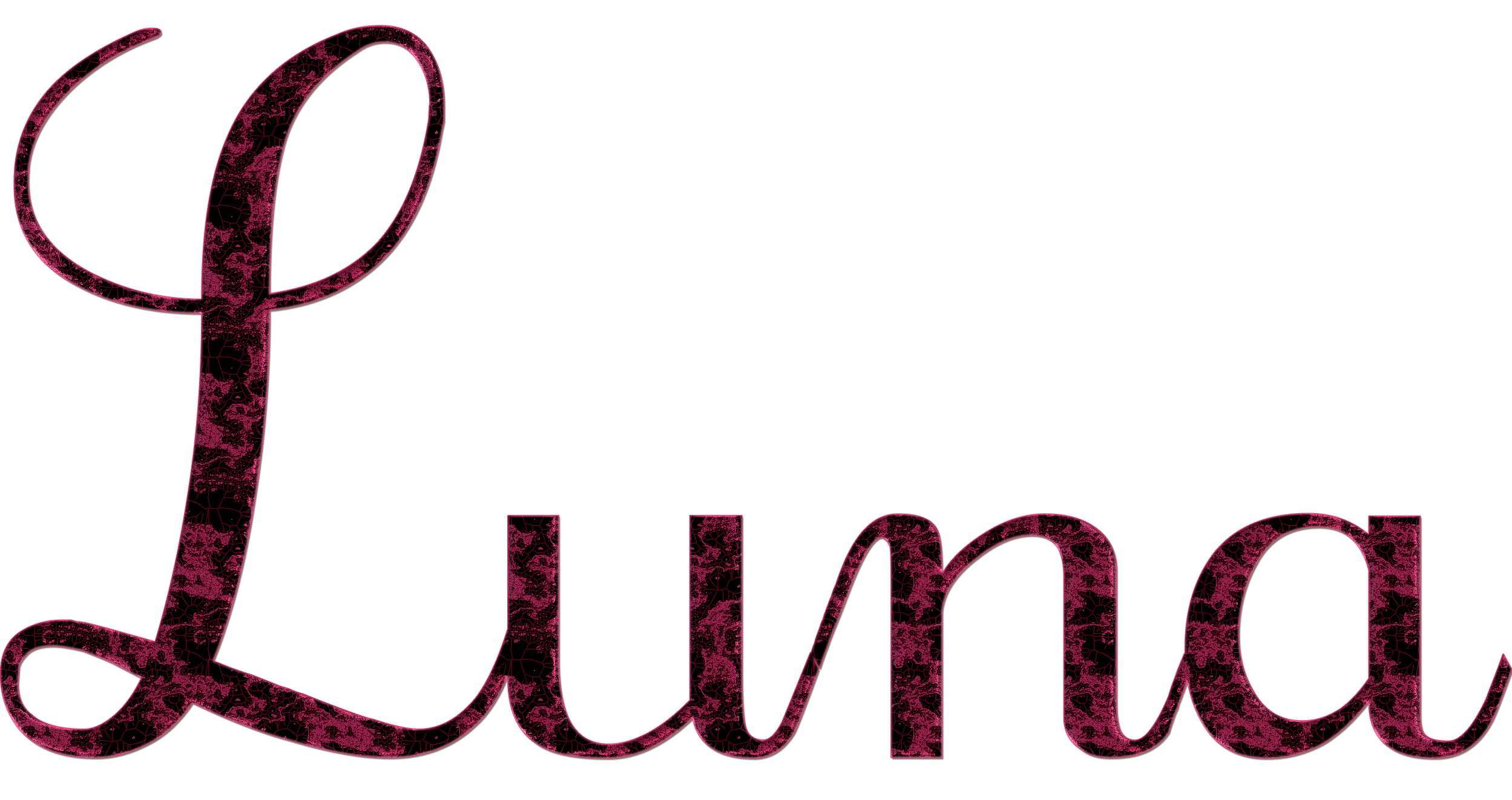 Name clipart transparent. Luna png by princessdawn