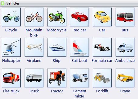 Transportation clipart name. Clip art vehicle visual