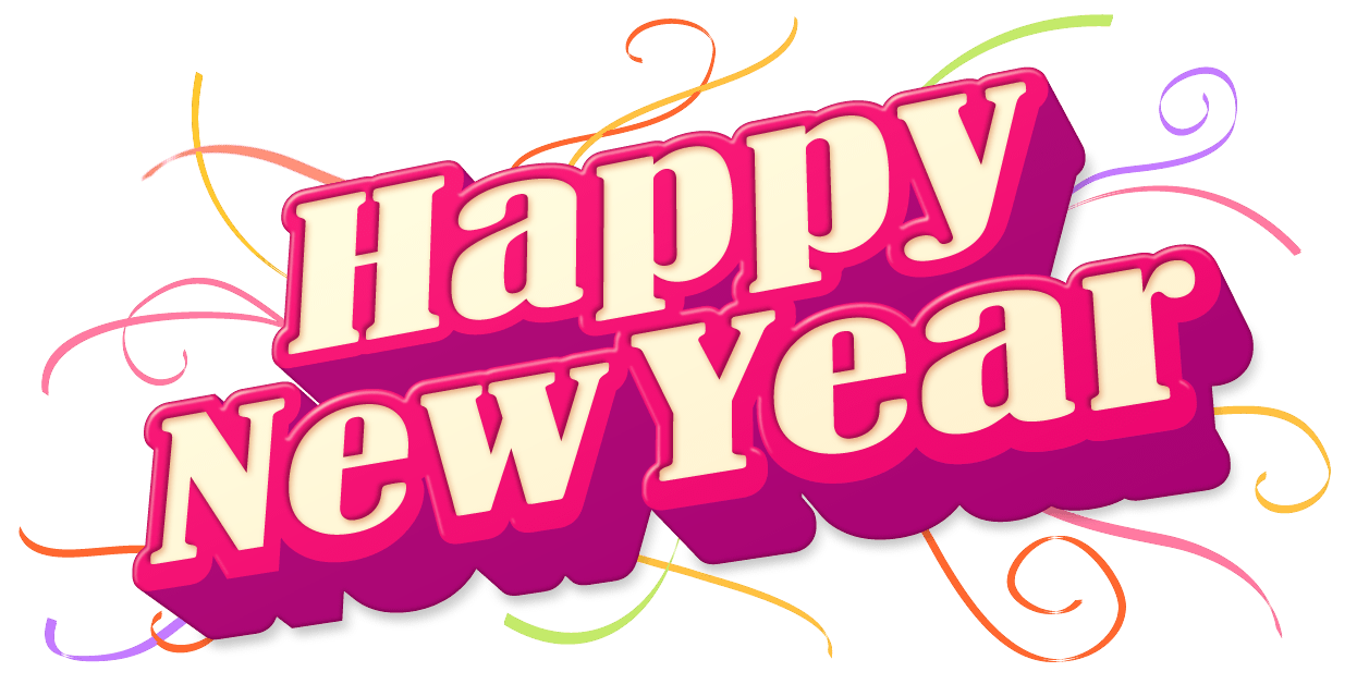 happy new year. Name clipart wallpaper