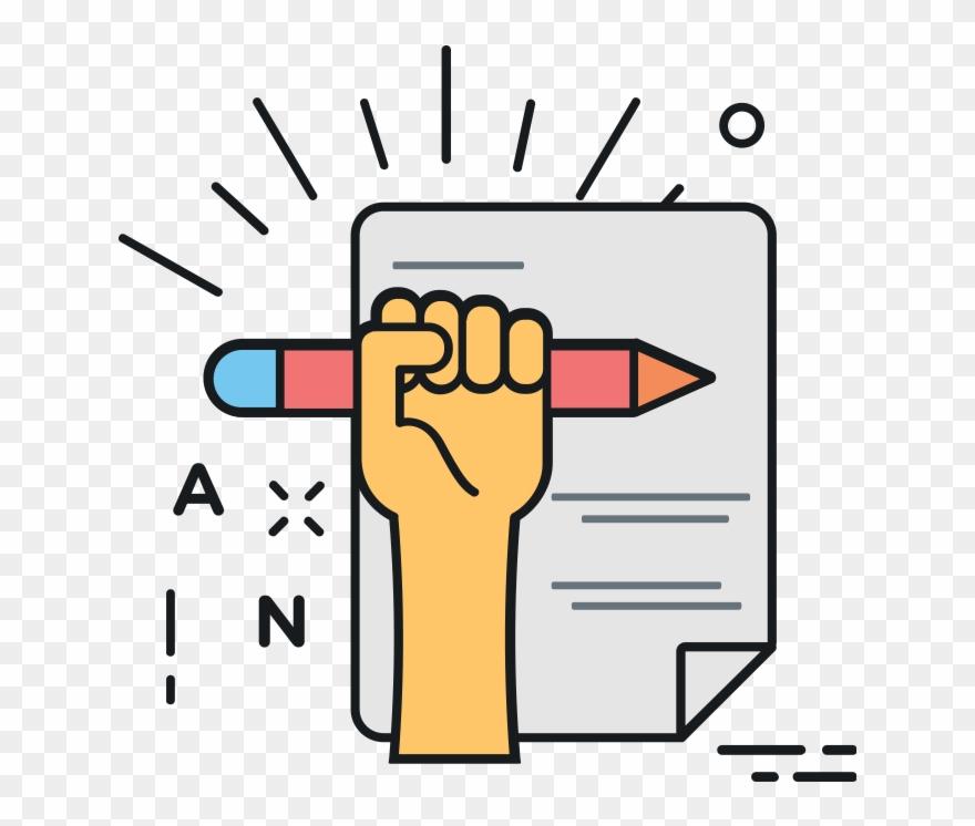 Writer clipart creativity. Creative writing transparent