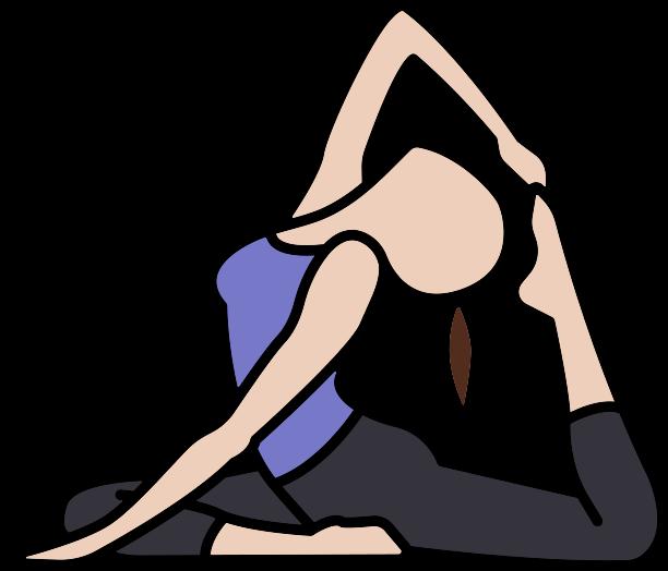 Name clipart yoga asana. Intermediate poses asanas with