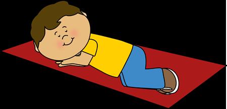 Storytime clipart preschool naptime. Boy taking a nap