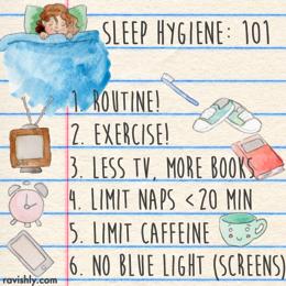 Nap clipart sleep hygiene. Clip art