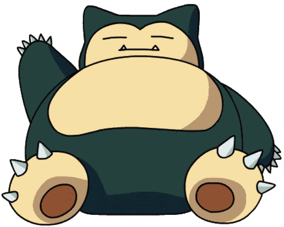Pokemon of the week. Nap clipart snore