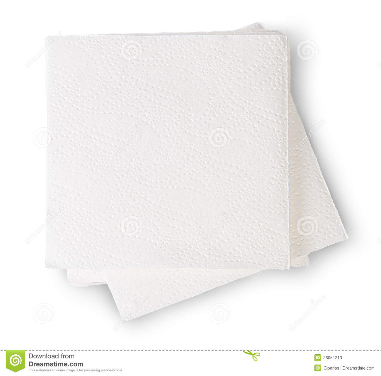 Napkin clipart. Packaged paper