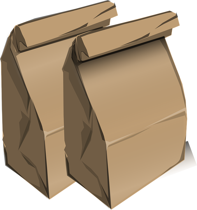 Recycling material search . Napkin clipart brown paper
