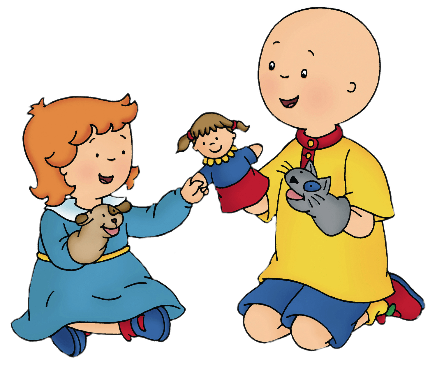Napkin clipart cloth napkin. Napkins caillou magic playhouse