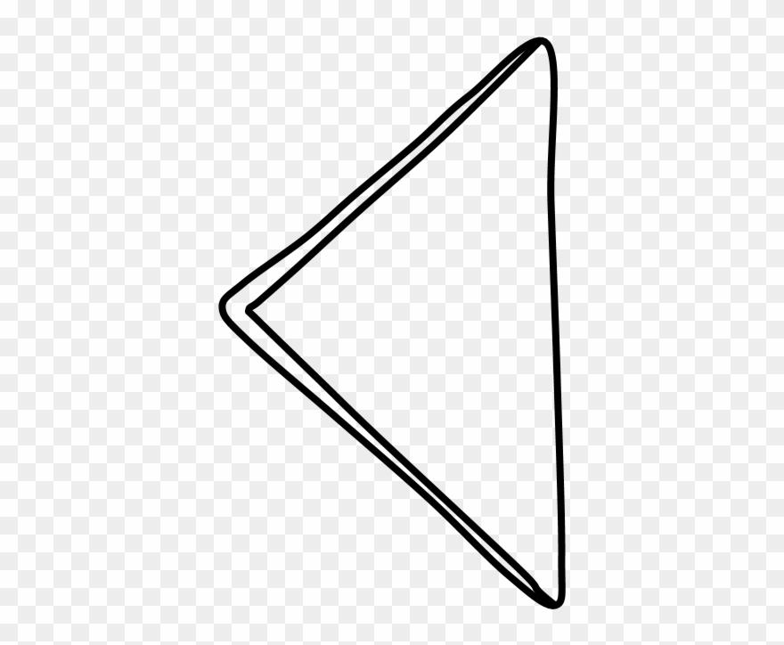 Triangle black and white. Napkin clipart folded napkin