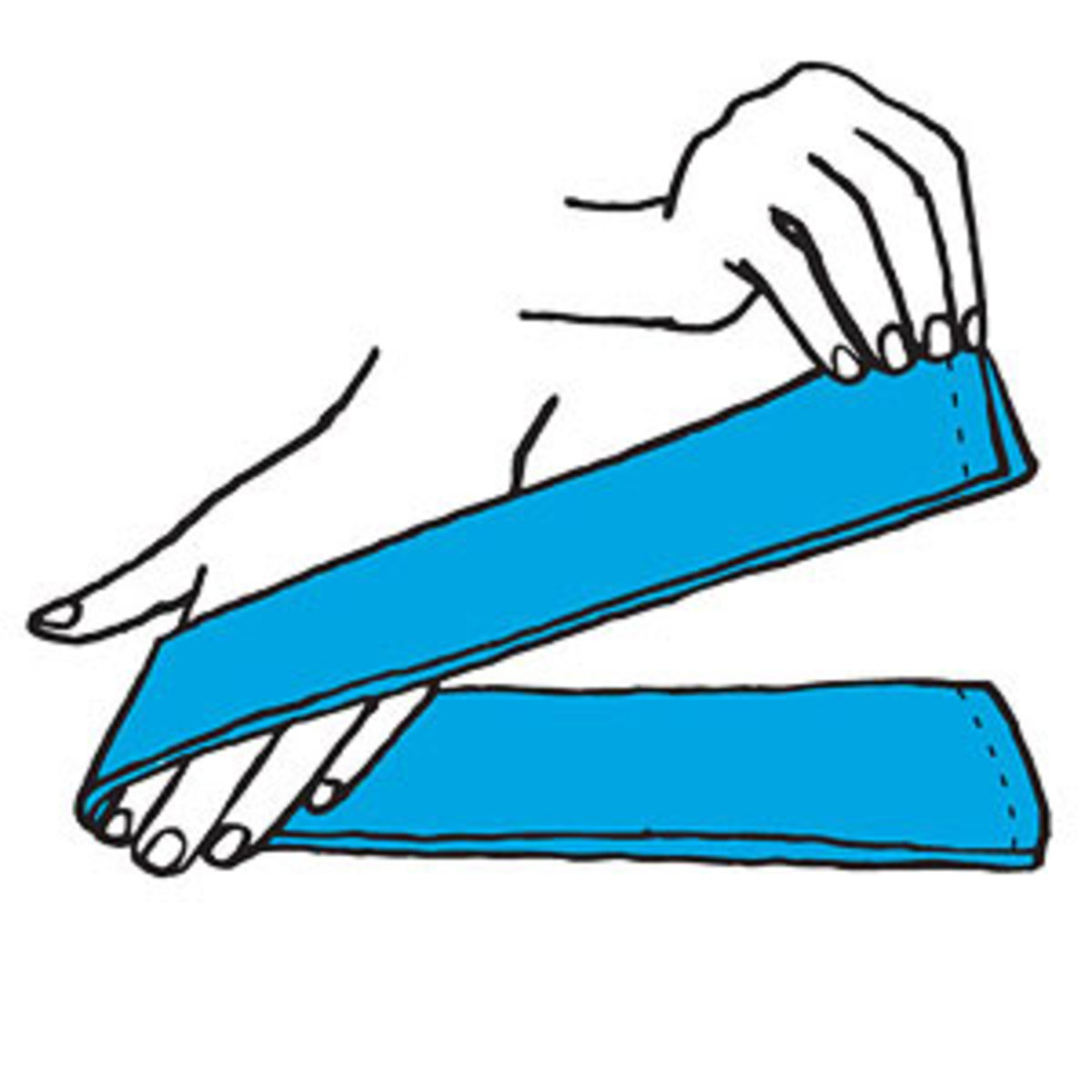 easy folds rachael. Napkin clipart folded napkin