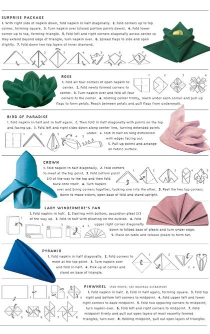 Napkin clipart napkin folding. Diy easy ways to
