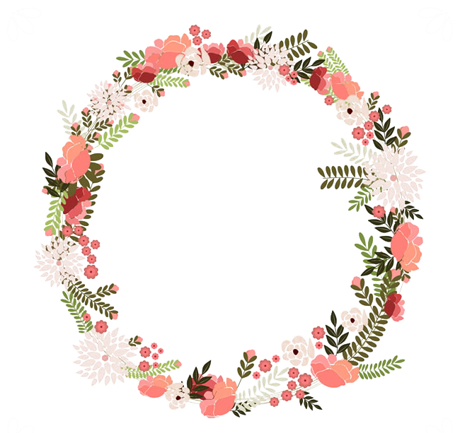 Napkin clipart paper napkin. Vintage clothing flower wreath
