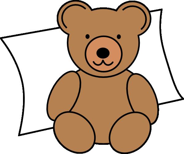 Bear clipart beruang. Nap time clip art