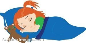 Naptime clipart little girl. Pin by aby curley