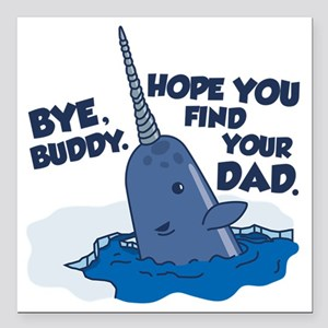 Car accessories cafepress . Narwhal clipart buddy the elf