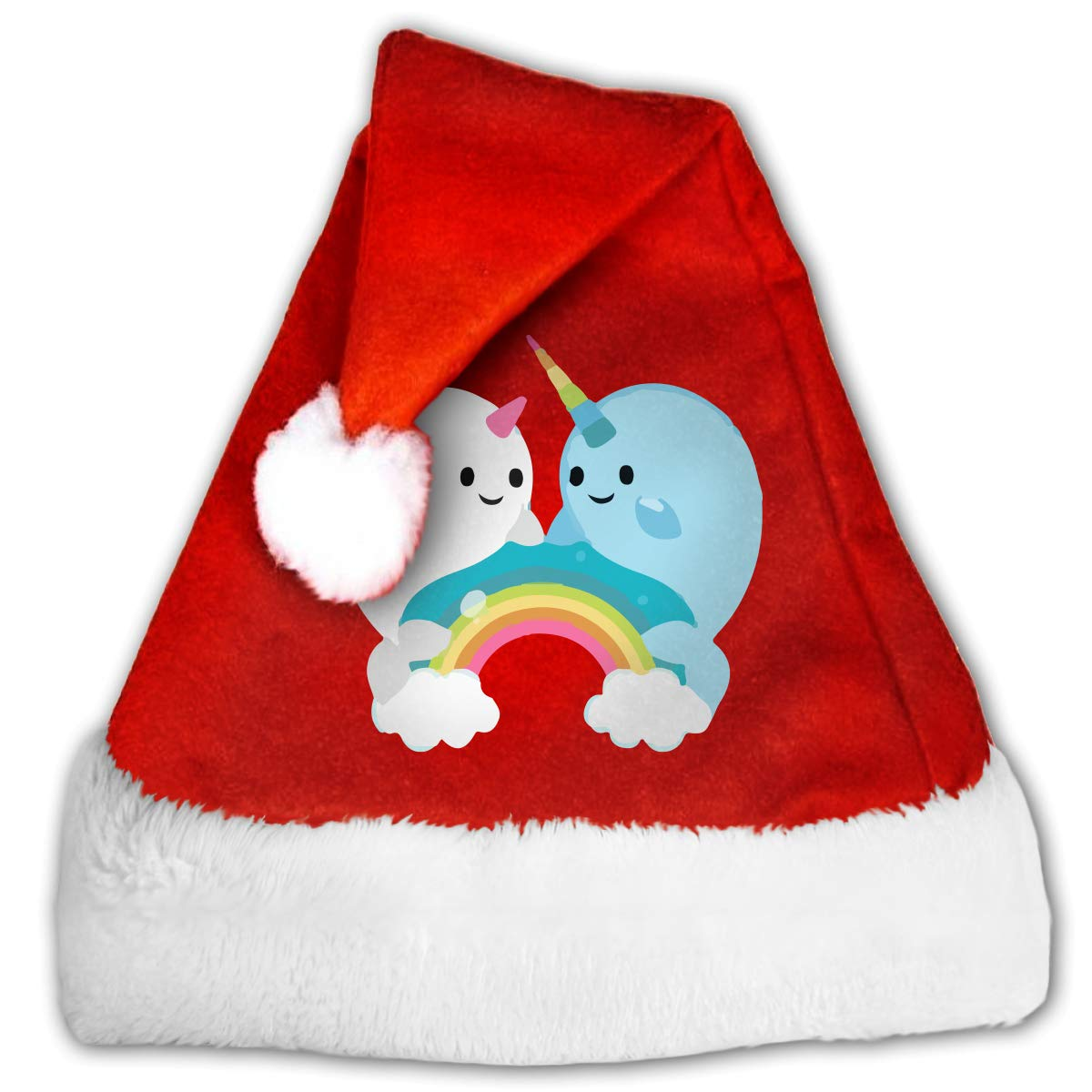 Amazon com qzdlq fashion. Narwhal clipart christmas