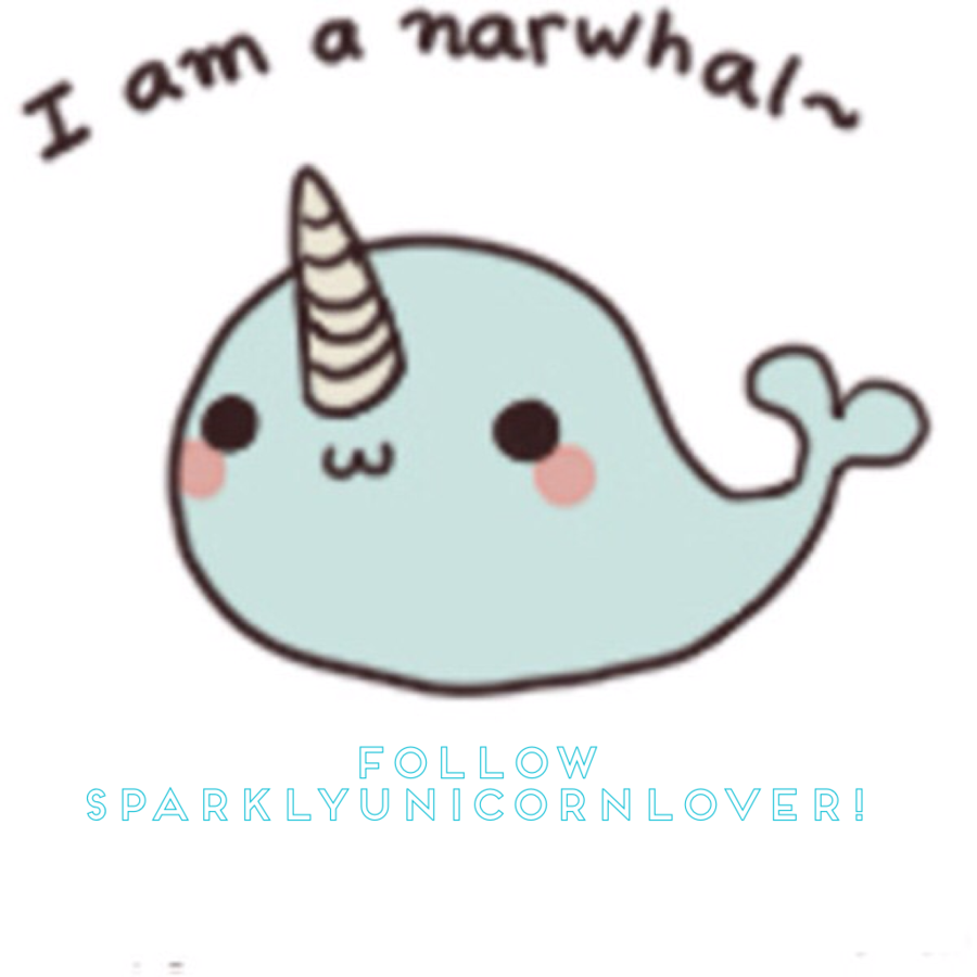 So cute drawing nose. Narwhal clipart easy draw