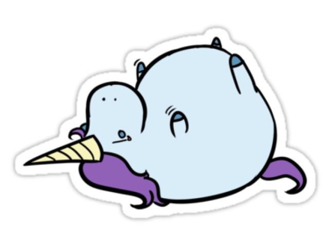 Narwhal clipart fat. Cliparts x carwad net