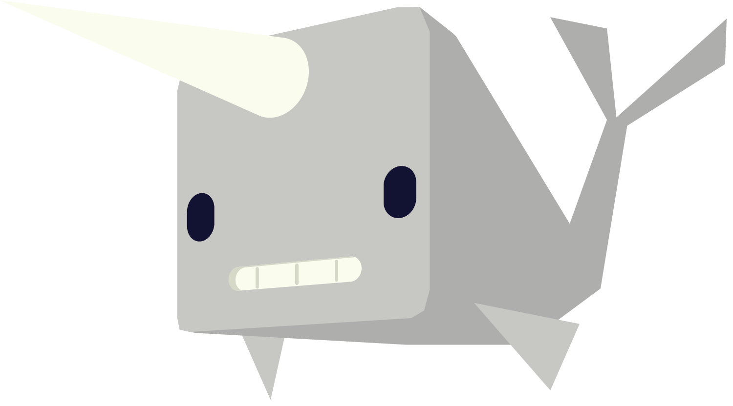 Narwhal clipart happy. Team aluminum narwhals
