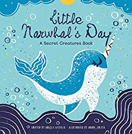 S day a secret. Narwhal clipart little