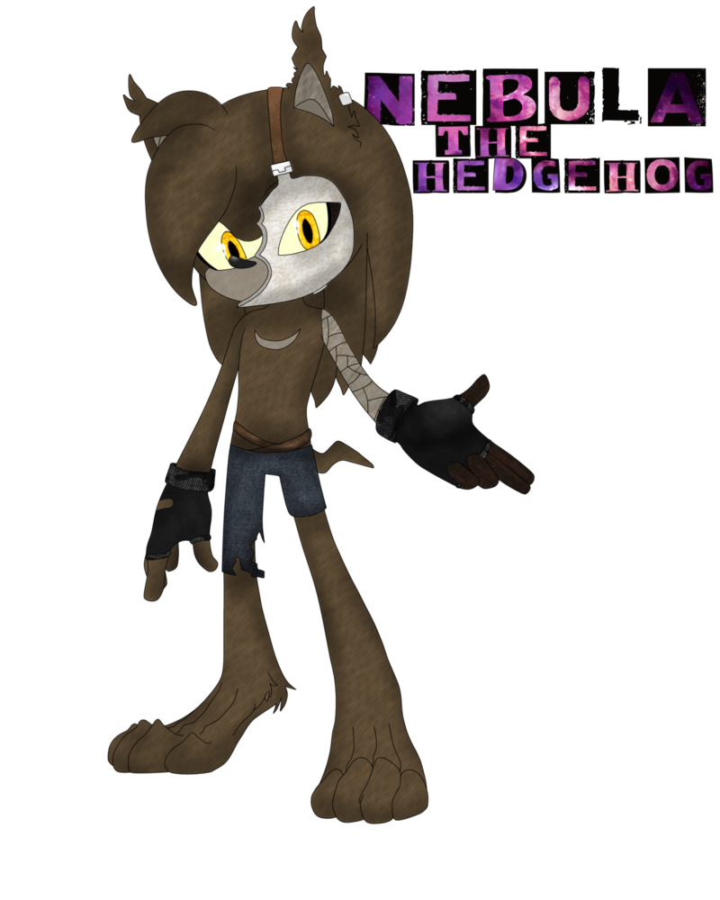 Nebula the hedgehog by. Narwhal clipart nah