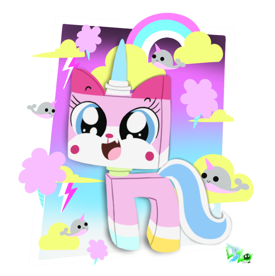 Unikitty by cloudyzu on. Narwhal clipart president