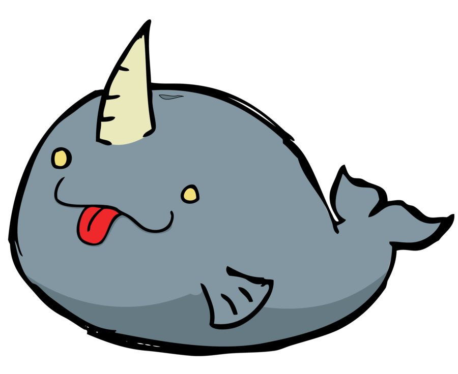 Narwhal clipart real. Beak snout marine mammal