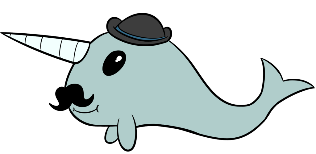 Hard wood oct mister. Narwhal clipart real