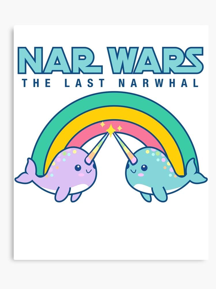 Narwhal clipart star wars. Kawaii cute style nar