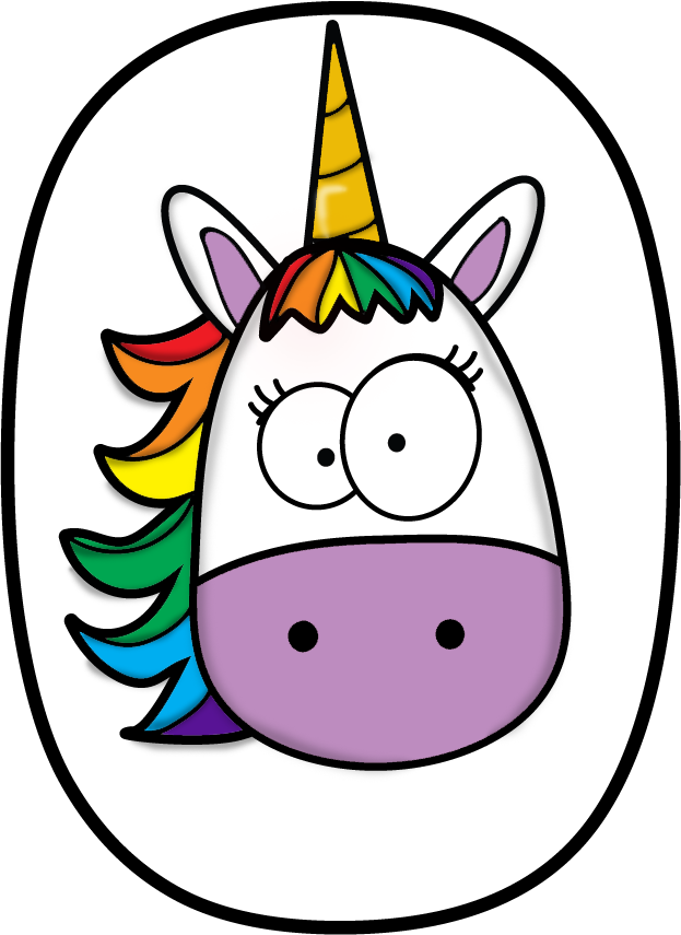 numeros pinterest unicorns. Narwhal clipart swag