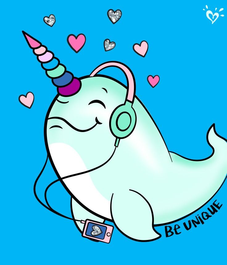 Pin on justice loves. Narwhal clipart swag