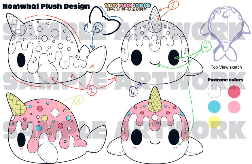 First look at the. Narwhal clipart tasty peach studios