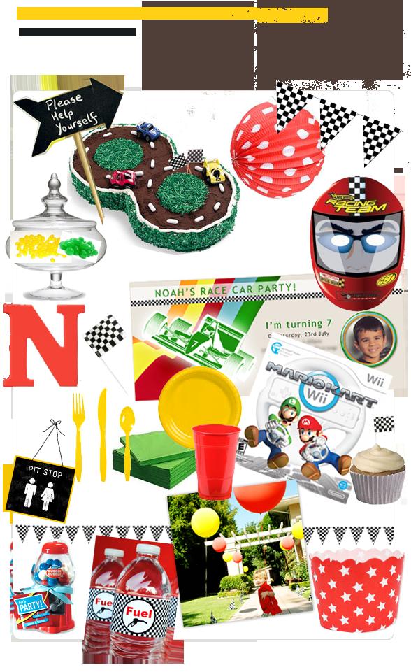 Nascar clipart birthday. Race car party ideas