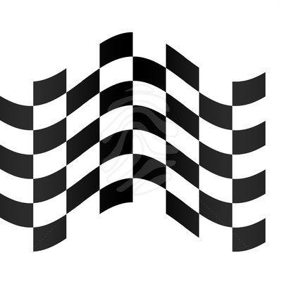Race clipart printable. Free checkered flag racing