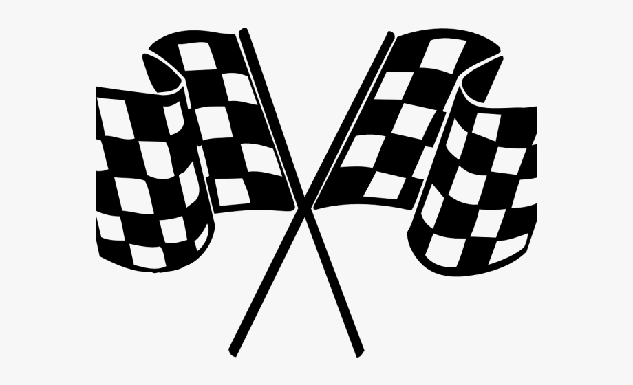 Racing checkered flag png. Nascar clipart finish line