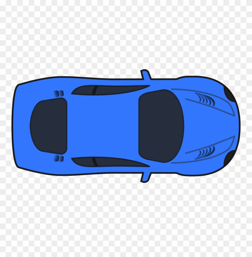 Car top png . Nascar clipart side view