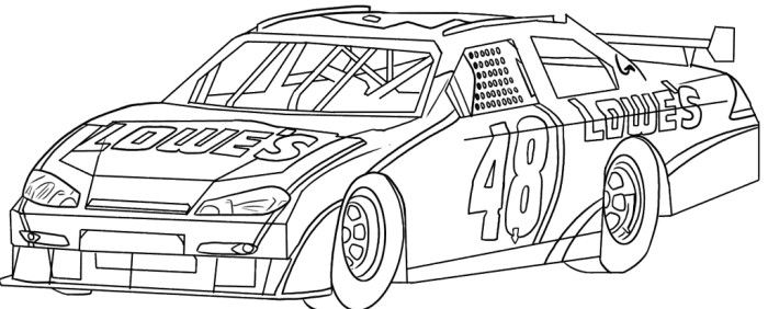 Paintings search result at. Nascar clipart sketch