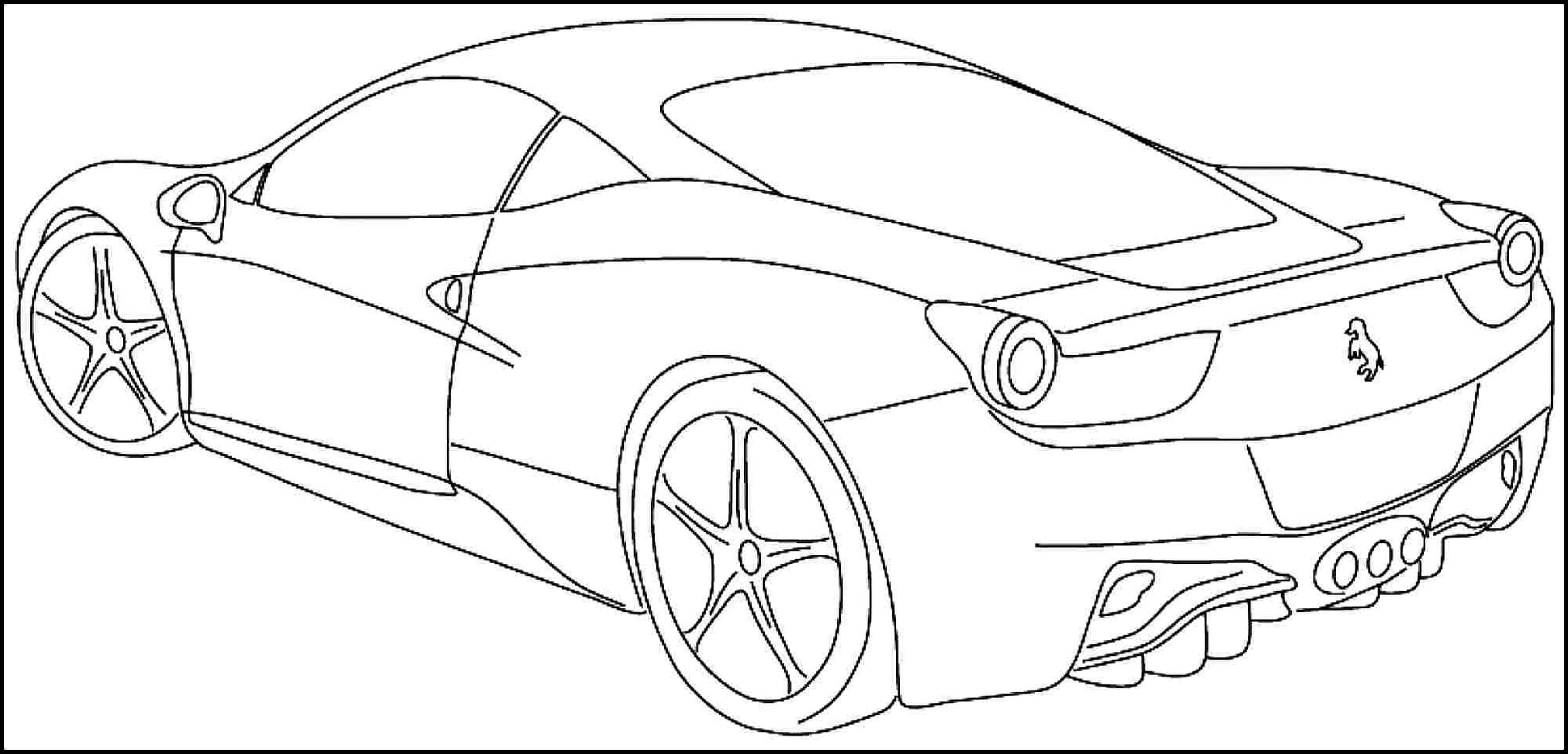 Car Coloring Pages - Best Coloring Pages For Kids | 1687x3507