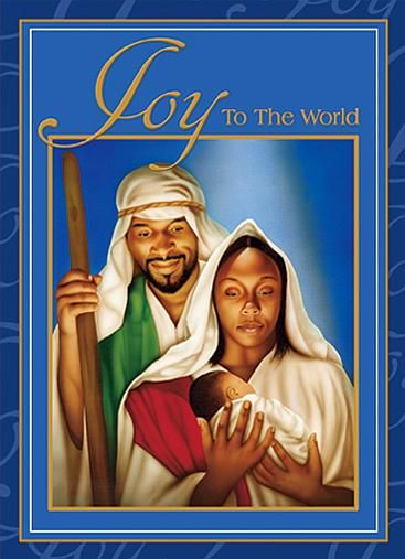 Christmas joy to the. Nativity clipart african american
