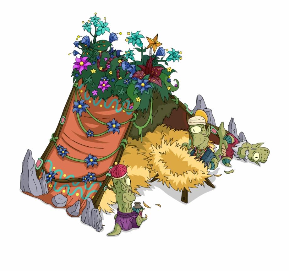 Manger illustration free png. Nativity clipart akatsuki