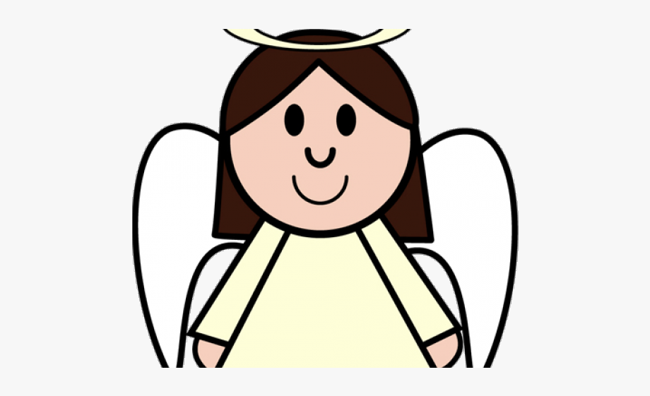 Nativity clipart angel. Angels face christmas