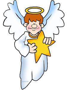 Clip art library . Nativity clipart angel